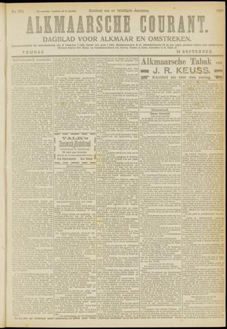 Alkmaarsche Courant 1919-09-12