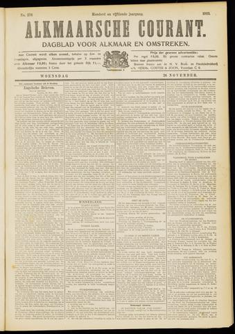 Alkmaarsche Courant 1913-11-26