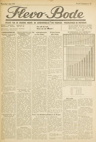 Flevo-bode: nieuwsblad voor Wieringen-Wieringermeer 1947-06-04