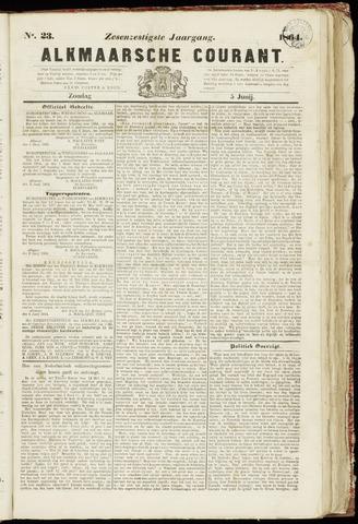 Alkmaarsche Courant 1864-06-05
