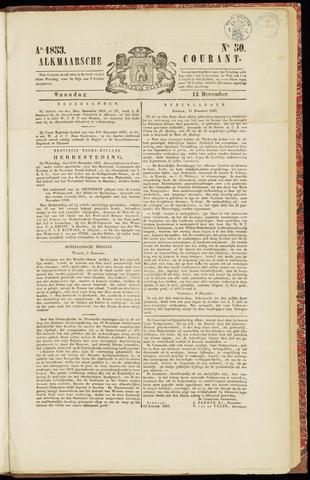 Alkmaarsche Courant 1853-12-12