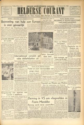 Heldersche Courant 1952-03-14
