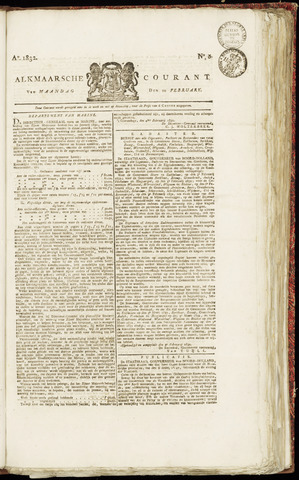 Alkmaarsche Courant 1832-02-20