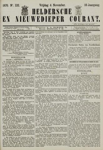 Heldersche en Nieuwedieper Courant 1870-11-04