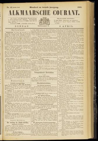 Alkmaarsche Courant 1900-04-08