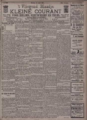 Vliegend blaadje : nieuws- en advertentiebode voor Den Helder 1897-04-24