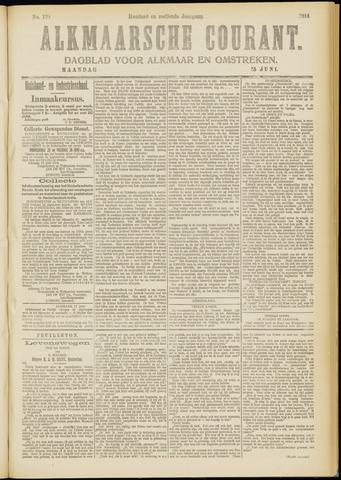 Alkmaarsche Courant 1914-06-15