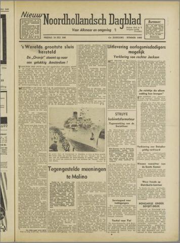Nieuw Noordhollandsch Dagblad : voor Alkmaar en omgeving 1946-07-19