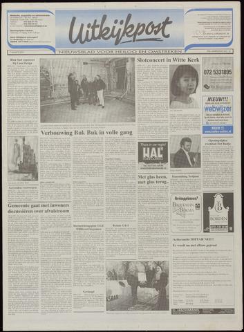 Uitkijkpost : nieuwsblad voor Heiloo e.o. 2001-03-07