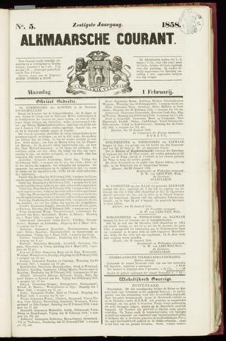 Alkmaarsche Courant 1858-02-01