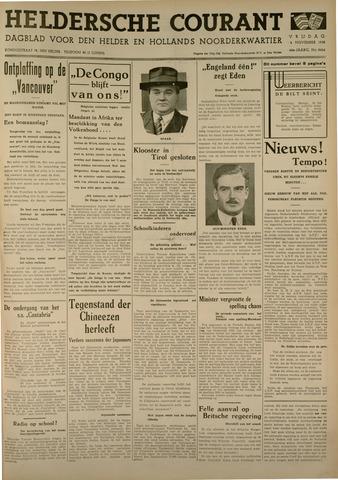 Heldersche Courant 1938-11-04