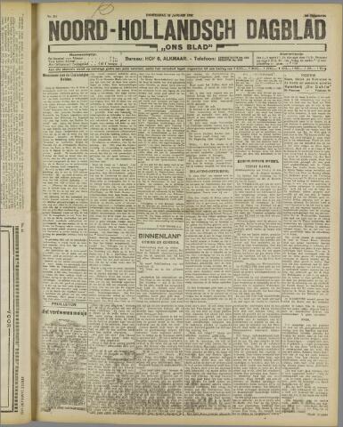 Ons Blad : katholiek nieuwsblad voor N-H 1922-01-12