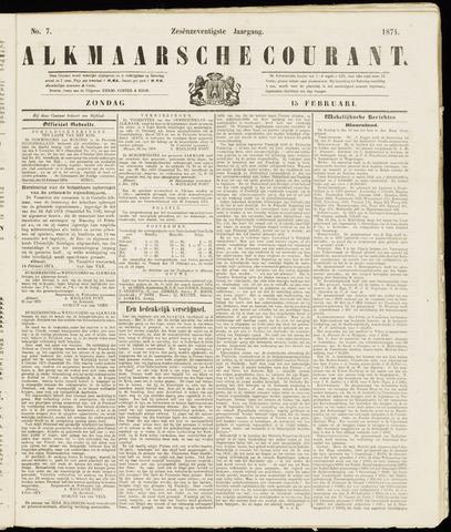 Alkmaarsche Courant 1874-02-15