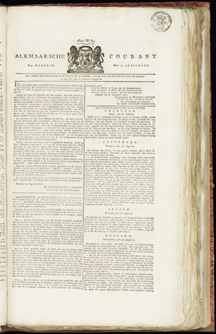 Alkmaarsche Courant 1827-09-10