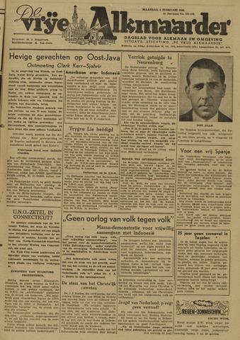 De Vrije Alkmaarder 1946-02-04
