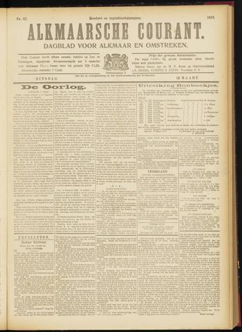 Alkmaarsche Courant 1917-03-13