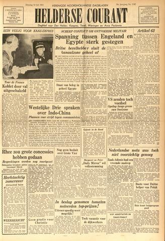 Heldersche Courant 1953-07-14