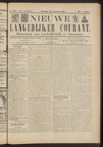 Nieuwe Langedijker Courant 1923-08-28