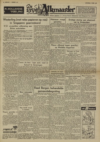 De Vrije Alkmaarder 1950-02-27
