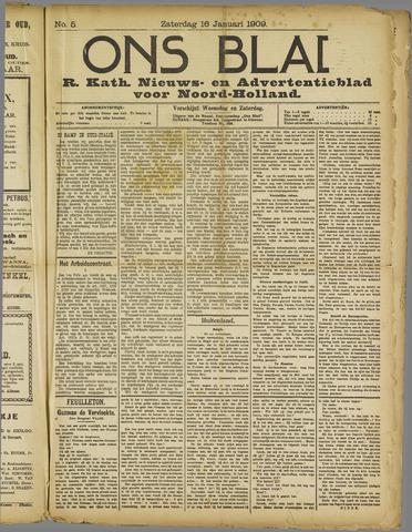 Ons Blad : katholiek nieuwsblad voor N-H 1909-01-16