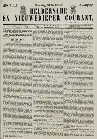 Heldersche en Nieuwedieper Courant 1870-09-28