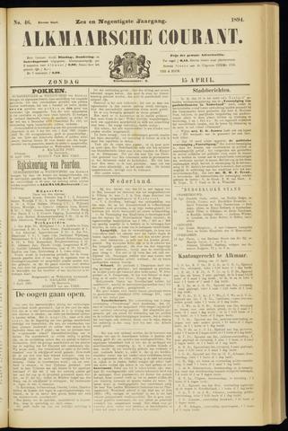 Alkmaarsche Courant 1894-04-15