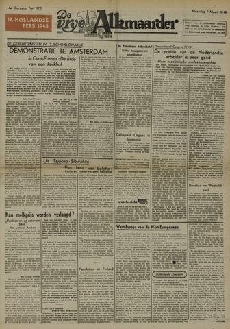De Vrije Alkmaarder 1948-03-01