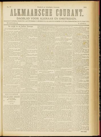 Alkmaarsche Courant 1918-04-03