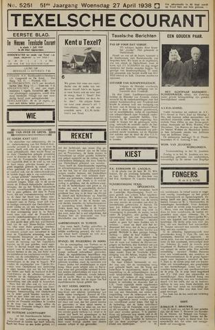 Texelsche Courant 1938-04-27