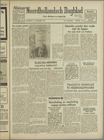 Nieuw Noordhollandsch Dagblad : voor Alkmaar en omgeving 1946-09-18