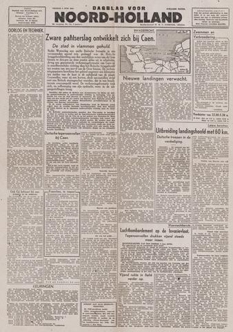 Dagblad Noord-Holland, Schager editie 1944-06-09