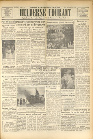 Heldersche Courant 1952-03-22