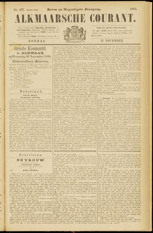 Alkmaarsche Courant 1895-11-17