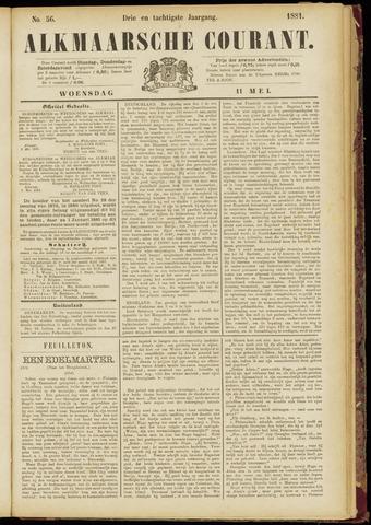 Alkmaarsche Courant 1881-05-11