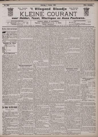 Vliegend blaadje : nieuws- en advertentiebode voor Den Helder 1902-10-04