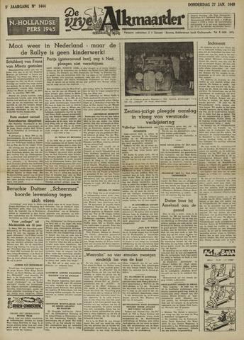 De Vrije Alkmaarder 1949-01-27