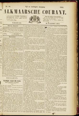 Alkmaarsche Courant 1883-02-16