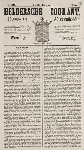 Heldersche Courant 1870-02-02