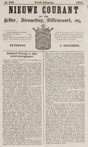 Nieuwe Courant van Den Helder 1864-11-05