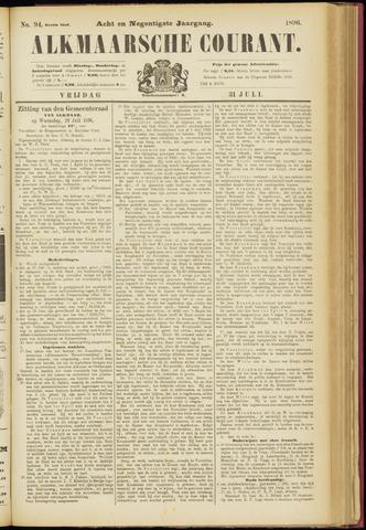 Alkmaarsche Courant 1896-07-31