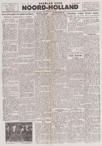 Dagblad Noord-Holland, Schager editie 1944-04-11