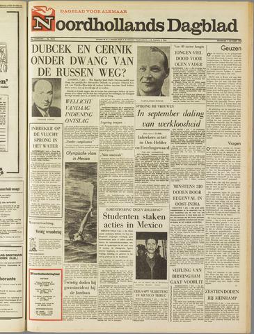 Noordhollands Dagblad : dagblad voor Alkmaar en omgeving 1968-10-07