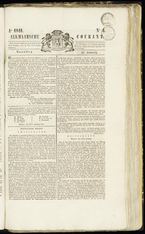 Alkmaarsche Courant 1841-01-25