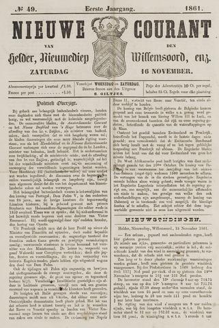 Nieuwe Courant van Den Helder 1861-11-16