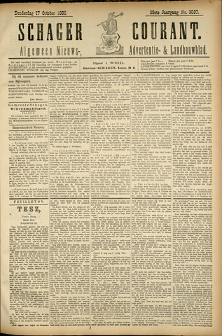 Schager Courant 1895-10-17