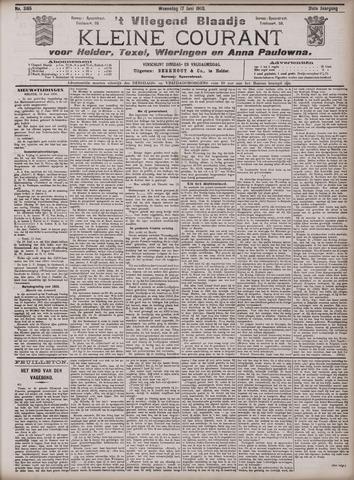 Vliegend blaadje : nieuws- en advertentiebode voor Den Helder 1903-06-17