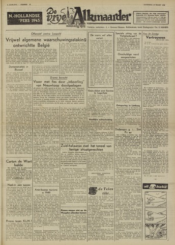 De Vrije Alkmaarder 1950-03-25