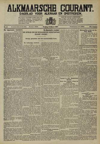 Alkmaarsche Courant 1937-03-12