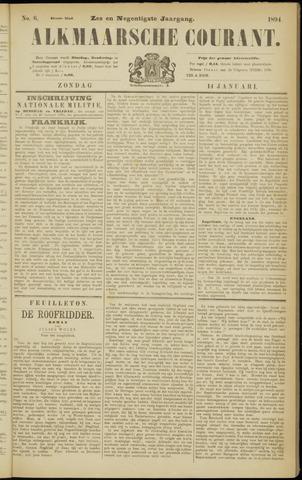 Alkmaarsche Courant 1894-01-14