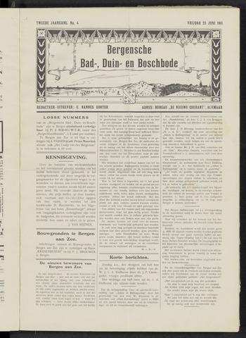 Bergensche bad-, duin- en boschbode 1911-06-23